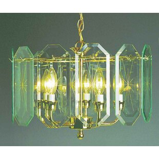 Volume Lighting 5-Light Drum Chandelier