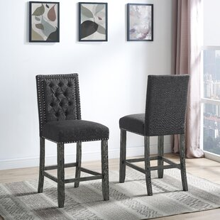 Lamothe 24 Bar Stool (Set of 2) House of Hampton