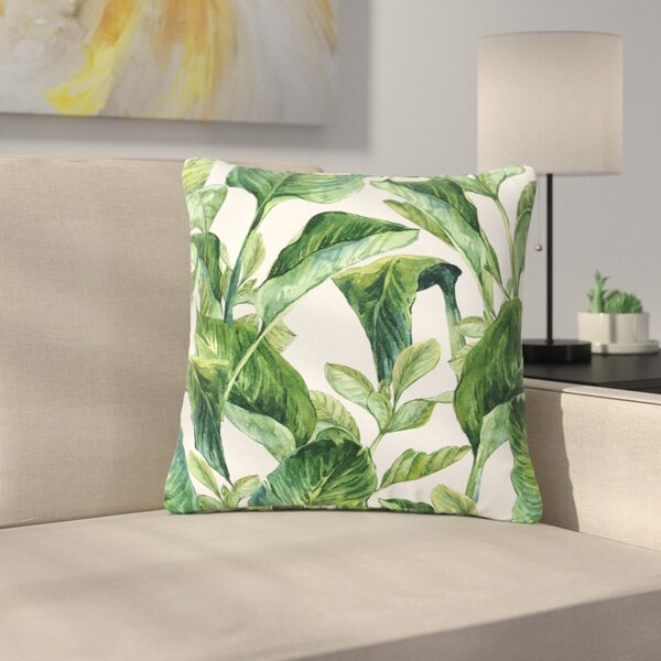Miraculous Banana Leaf Outdoor Pillow Wayfair Machost Co Dining Chair Design Ideas Machostcouk