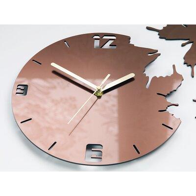 Zipcode Design Bureen 28cm Silent Wall Clock Wayfair Co Uk