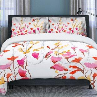 Kawli Flower Comforter Set