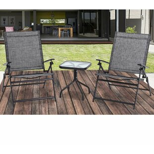 Thorp Outdoor Adjustable Folding Reclining Seating Group By Red Barrel Studio