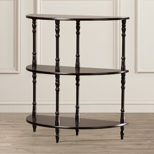 Ladoga 3-Tier Half Moon End Table