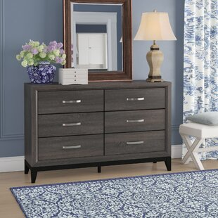 Great Price Beare 6 Drawer Double Dresser by Ivy Bronx