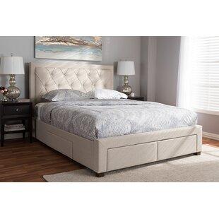 Rob Upholstered Platform Bed with Storage