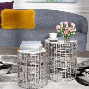 Read Reviews Andrews 2 Piece End Table By Willa Arlo Interiors