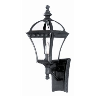 Camelot 1-Light Sconce By Three Posts Outdoor Lighting