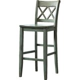 Shulman Solid Wood Bar & Counter Stool (Set of 2) by Charlton Home®