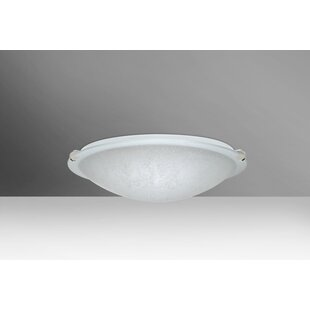 Trio Outdoor Flush Mount by Besa Lighting