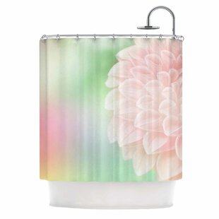 'Sweet Pink' Single Shower Curtain