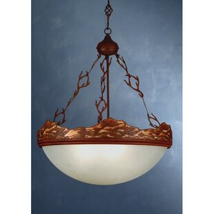 Meyda Tiffany Wave 4-Light Bowl Pendant