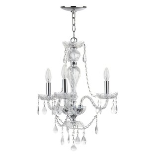 St Ives 3-Light Candle Style Chandelier By House of Hampton