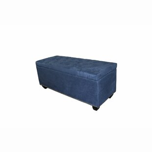 Best Gridley Upholstered Storage Bench By Alcott Hill