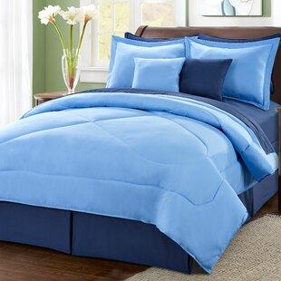 10 Piece Reversible Comforter Set
