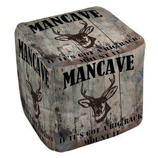 Mancave Pouf