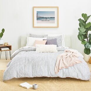 Laguna Stripe Reversible Duvet Cover Set