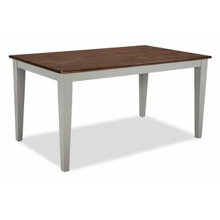 Gracie Oaks Stanton Solid Wood Dining Table