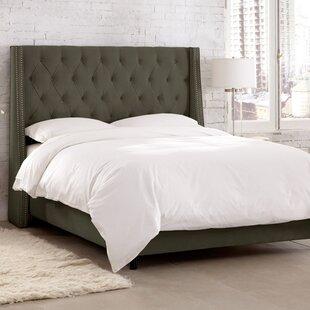 Skyline Furniture Charlotte Upholstered Panel Bed
