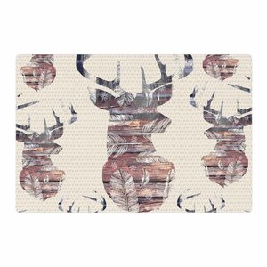 Suzanne Carter Wild and Free 2 Beige/Brown Area Rug