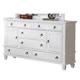 Mapleton 6 Drawer Combo Dresser by Darby Home Co