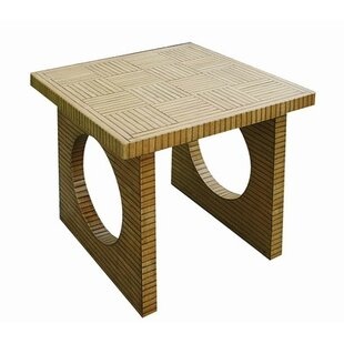 Agostini End Table by Bloomsbury Market