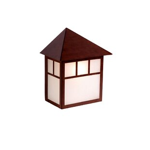 Read Reviews San Pablo Outdoor Wall Lantern By Loon Peak