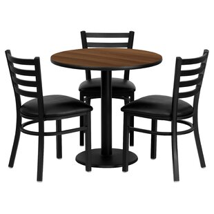 Utkarsh 4 Piece Dining Set Red Barrel Studio