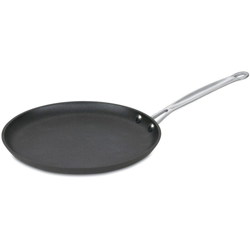 Round bottomed crepe pan