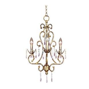 JB Hirsch Home Decor 3-Light Candle Style..
