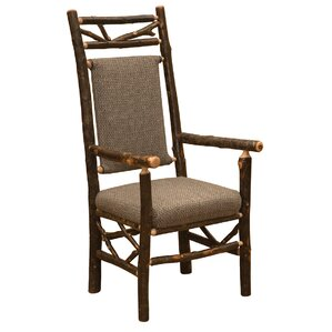 Hickory Twig Upholstered Arm Chair by Fireside Lodge