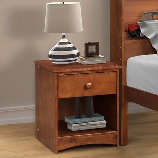 Cesar 1 Drawer Nightstand by Longshore Tides