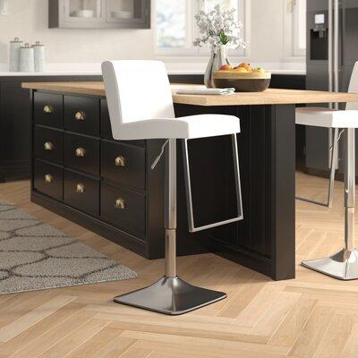 Super Bissett Adjustable Height Swivel Bar Stool Brayden Studio Ncnpc Chair Design For Home Ncnpcorg