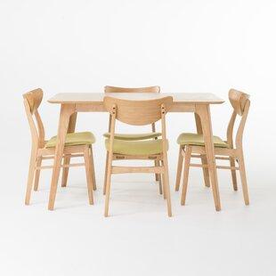 Lillard 5 Piece Dining Set by Mercury Row 2019 Sale