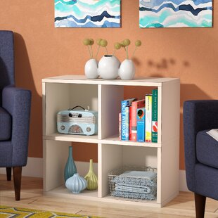 Andrade Quad Cube Unit Bookcase by Wrought Studio