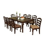 Wylie 9 - Piece Extendable Dining Set by Canora Grey
