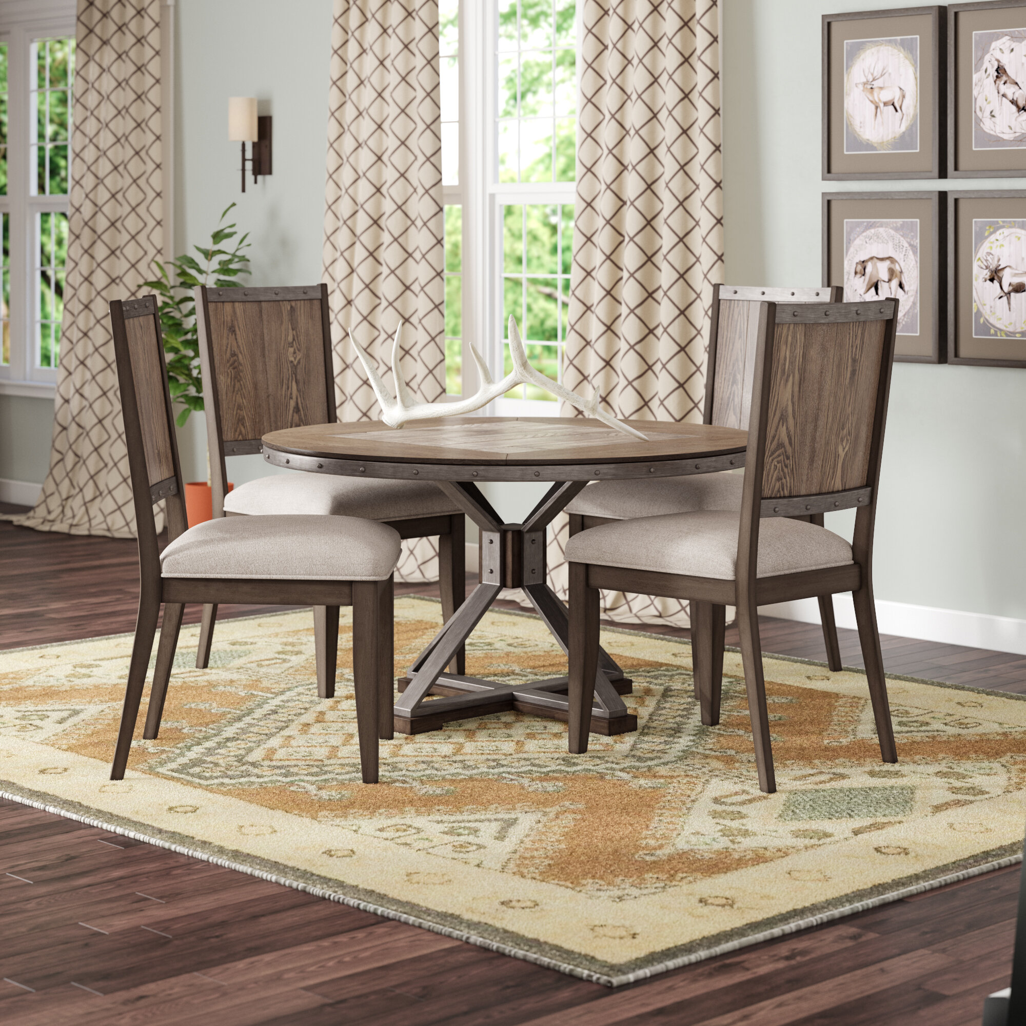 Millwood Pines New Ashford 5 Piece Dining Set Reviews Wayfair