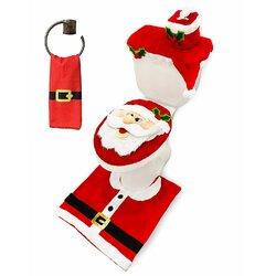 The Holiday Aisle Cavanaugh Christmas Candles Beach Towel Wayfair