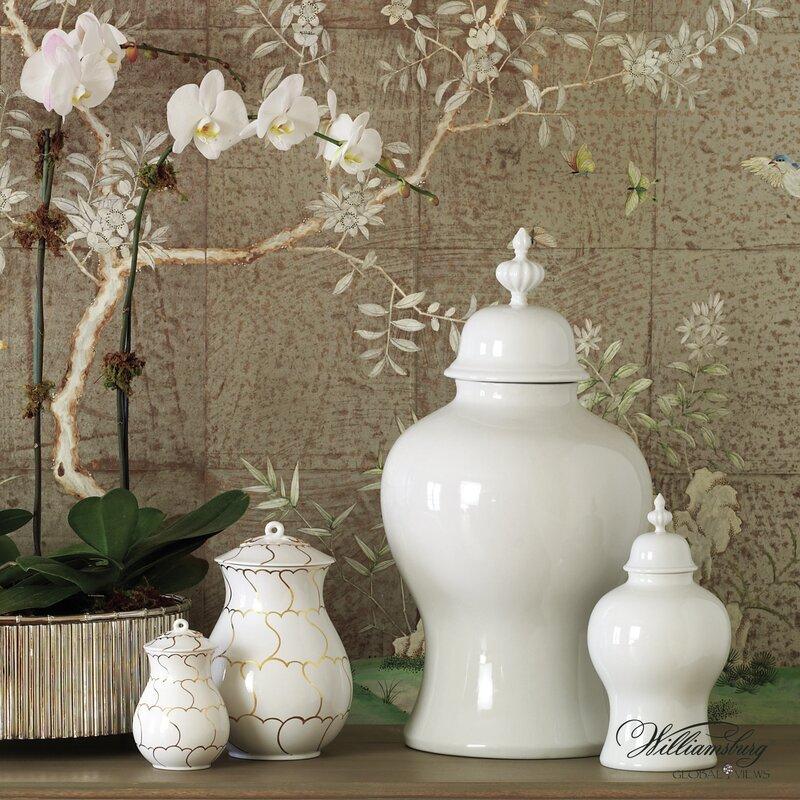 Hession Round Porcelain Jar