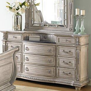 Toddington 11 Drawer Standard Dresser/Chest by Astoria Grand