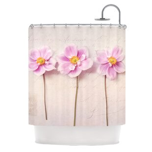 Anemone Trio Polyester Single Shower Curtain