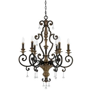 Astoria Grand Windsor Rise 6-Light Chande..