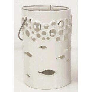 Comparison Ceramic Lantern By Drew DeRose Designs