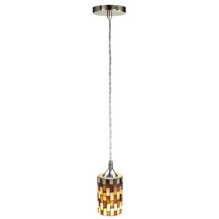 Springdale Lighting Myriad 1-Light Cylinder Pendant