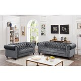 Mohr Velvet 2 Piece Living Room Set by Rosdorf Park