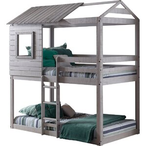 Twin Bunk Bed by Donco Kids