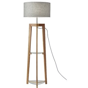 Reviews Shaffer Shelf 60 Column Floor Lamp By Brayden Studio
