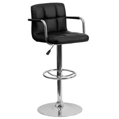 Stupendous Zipcode Design Faith Adjustable Height Swivel Bar Stool Ncnpc Chair Design For Home Ncnpcorg