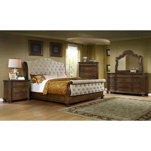 Beautiful King Sleigh 4 Piece Bedroom Set