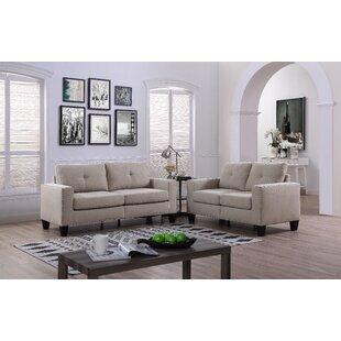 Ariyah 2 Piece Living Room Set by Winston Porter