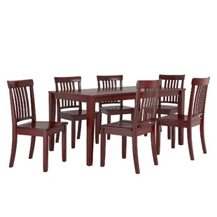 Alverson 7 Piece Dining Set August Grove
